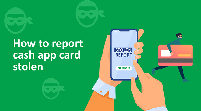 report cash app card stolen